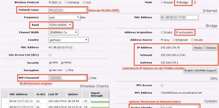 Mikrotik hAP AC Lite – Anleitung für den Einsatz als Access Point