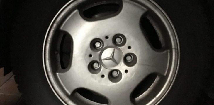 Druckverlust im Reifen – brüchiger Lack